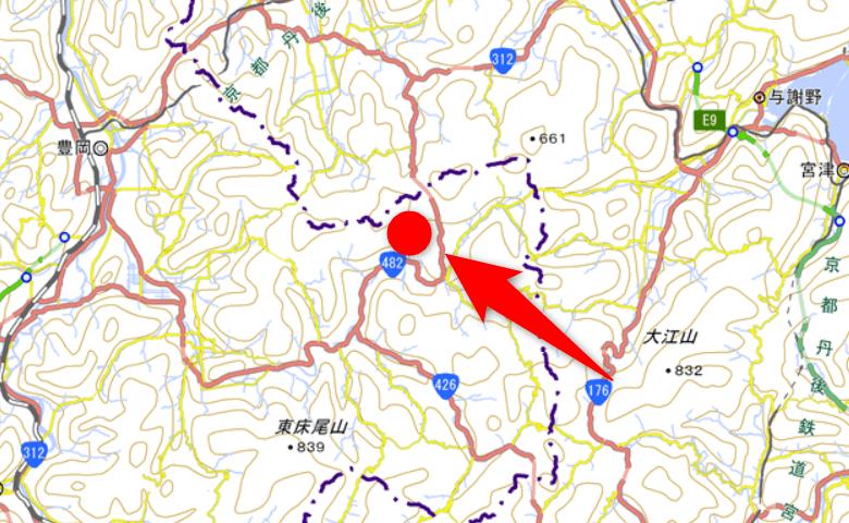 山林物件 兵庫県豊岡市但東町坂野